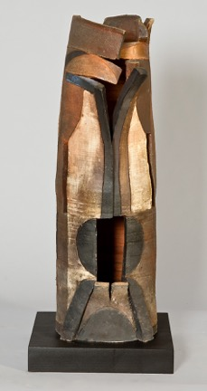 Pylae, 2002, wood-fired stoneware