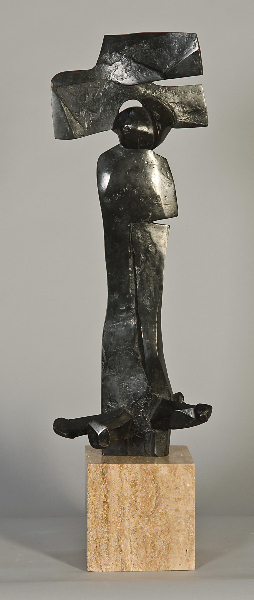 Aeolus II, 1972, bronze, 23 x 9 x 9 in.