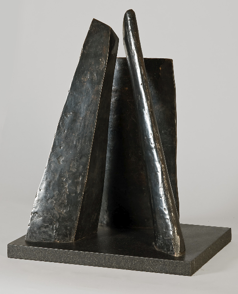 Agamemnon''s Wall Variation, 1978, bronze, 23 x 16 x 4 in.