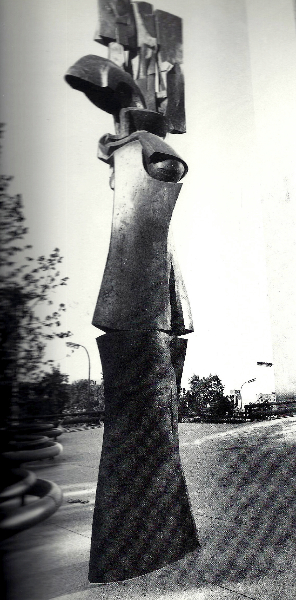 Arcturus, Minneapolis, MN, 1973, bronze, 25' high