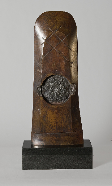 Aesclypios' Stele, 1995, bronze, 23 x 9 x 3 inches