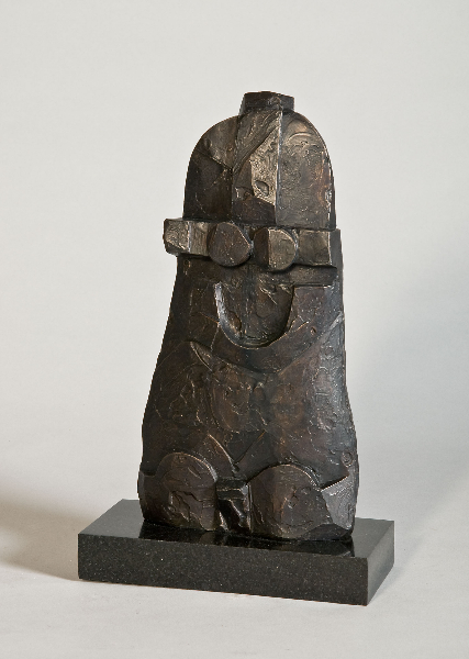 Bell Series, 1996, bronze, 15.5 x 8 x 2 inches