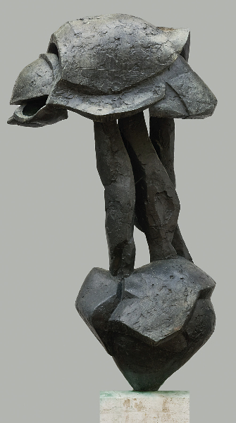 Elmo V, 1962 Bronze 75 x 41 x 27 inches