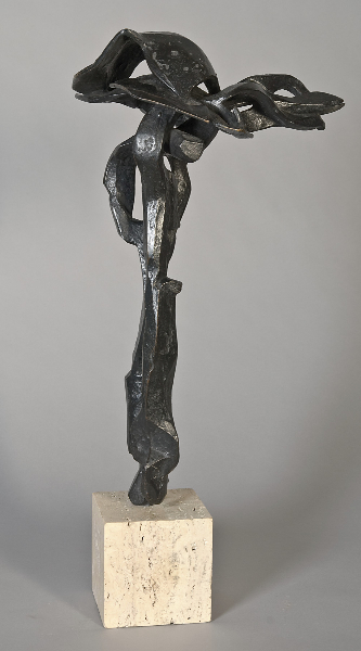 Lincoln Center Study, 1964, bronze, 19 x 11 x 8 inches