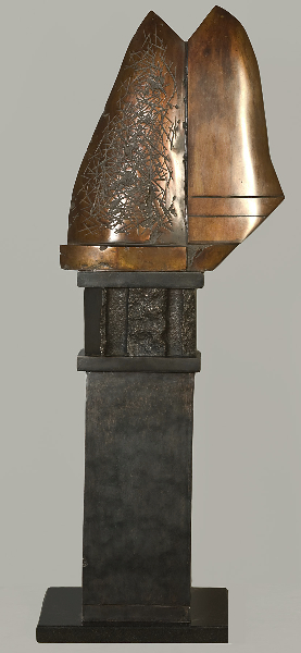 Mycenean Marker, 1995, bronze, 47 x 14 x 7 inches