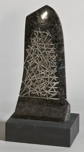 Nemean Tablet I, 1995, granite, 18 x 10 x 4 inches
