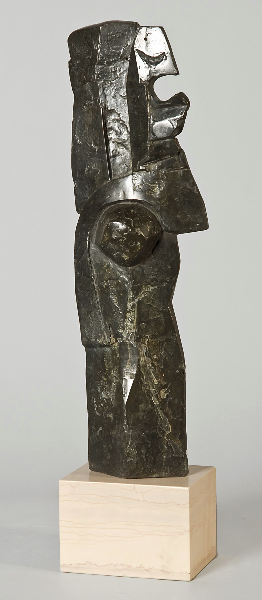 Olympia II, 1977, bronze, 19 x 6 x 4 in.