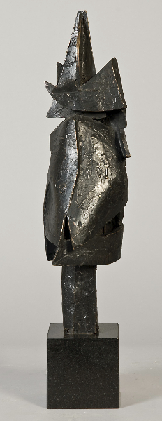 Pelion Trophy, 2001, bronze, 16.5 x 5 x 4 inches