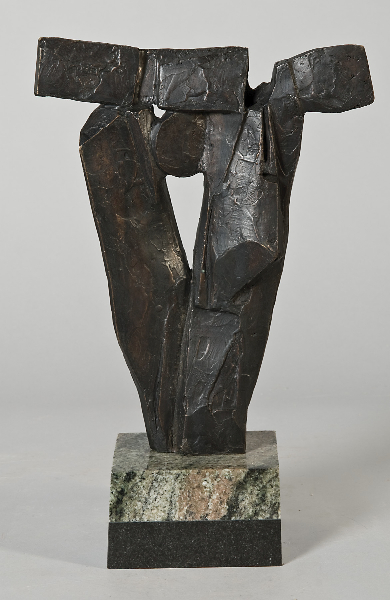 Primavera Pine Manor, 1980s, bronze, 10 x 8 x 1.5 inches