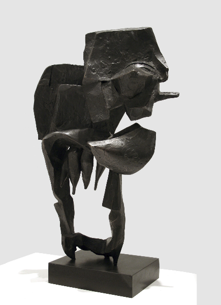 Scudi I, 1958, bronze 28 x 16 x 8.5 inches