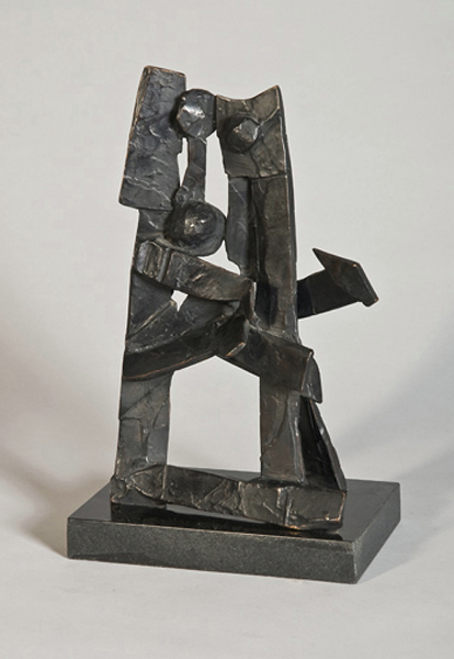 Shintomas, 1980s, bronze, 14.5 x 9 x 6 inches