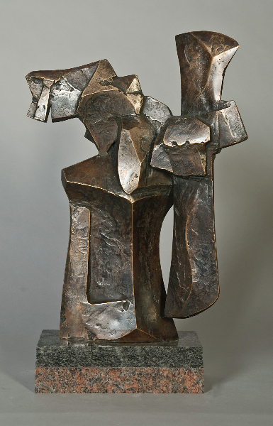 Talos, 1975, bronze, 15 x 12 x 4 in.