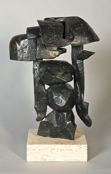 Terra III, 1967, bronze, 49 x 43 x 24 inches