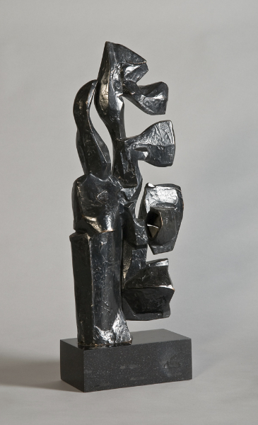 Totem, 1967, bronze, 21 x 7 x 4 inches