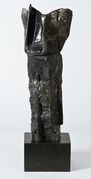 Trophy II, 2001, bronze, 17 x 5.5 x 6 inches