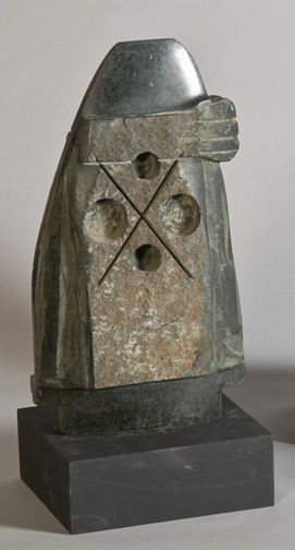 Untitled, 1990s, granite, 14 x 8 x 4 inches